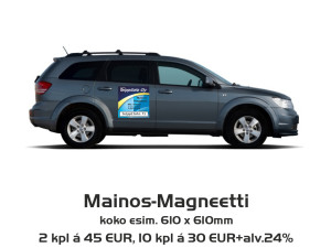Mainos-Magneetti
